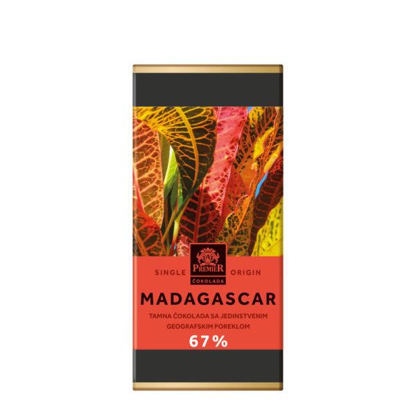 Tamna čokolada kakao ukusa sa aromatičnim notama crvenog voća, bobica kleke, svežih kajsija i duvana
