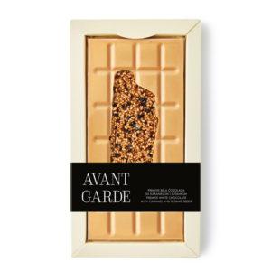 Avant Garde bela čokolada karamel i susam