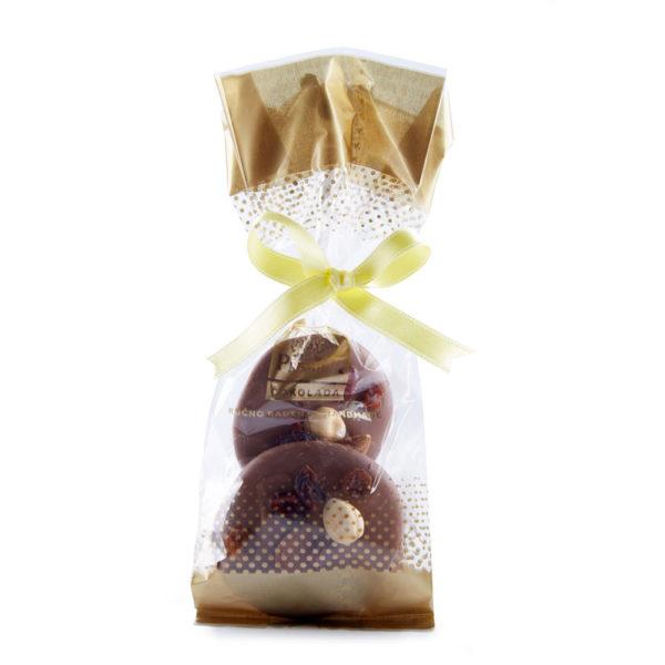 Mlečne čokoladne pločice sa voćem