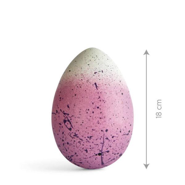Uskršnje Čokoladno Jaje u Rozoj Boji.