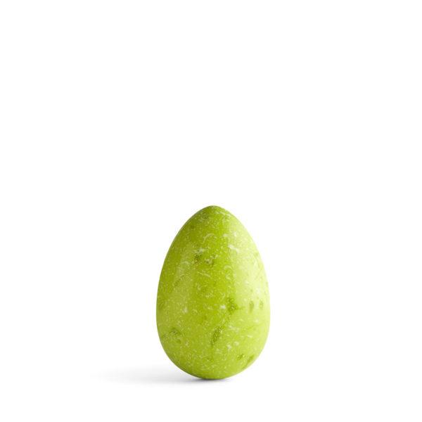 Čokoladno Jaje u Zelenoj Boji.
